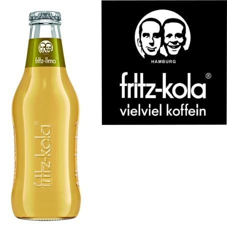 fritz -spritz Apfelsaftschorle (24/0,2 Ltr. Glas)