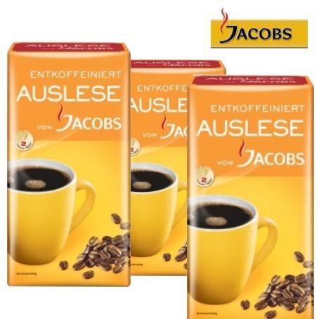 JACOBS Auslese entcoffeiniert (12/500 g.)