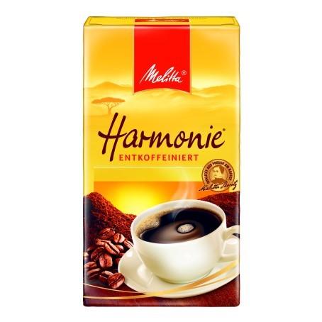Melitta Cafe Harmonie Entcoffeiniert (500 g.)
