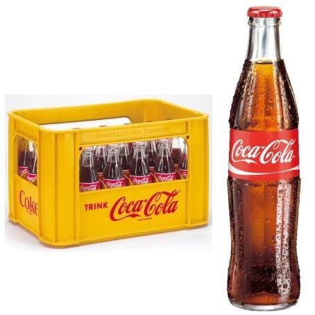 Coca Cola (24/0,33 Ltr. Glas)