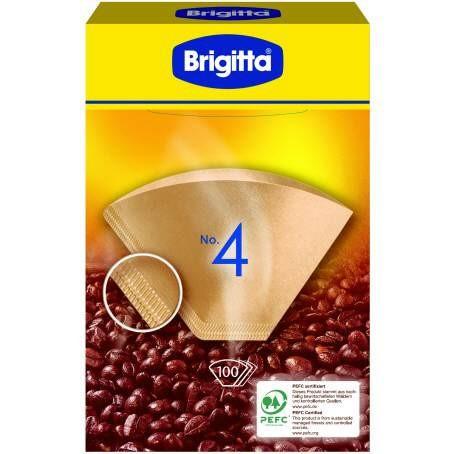 Brigitta Filtertüten 1x4 (80 Stück)
