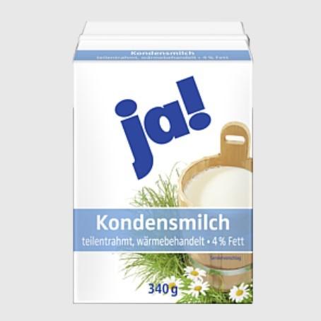JA Kondensmilch 4,0% (20 x 340 ml.)