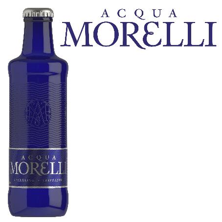 Acqua Morelli Frizzante (24/0,25 Ltr. Glas)