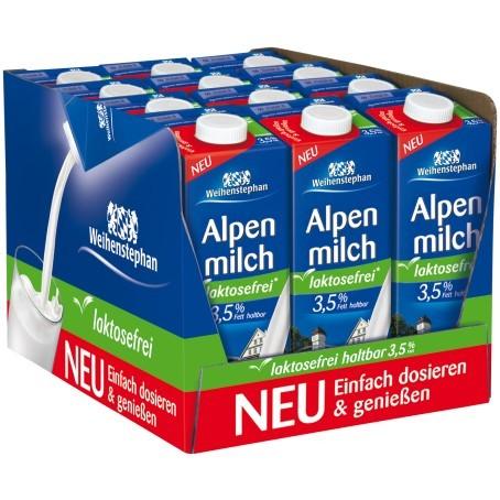 Weihenstephan 3,5% Laktosefrei (12/1 Ltr.)