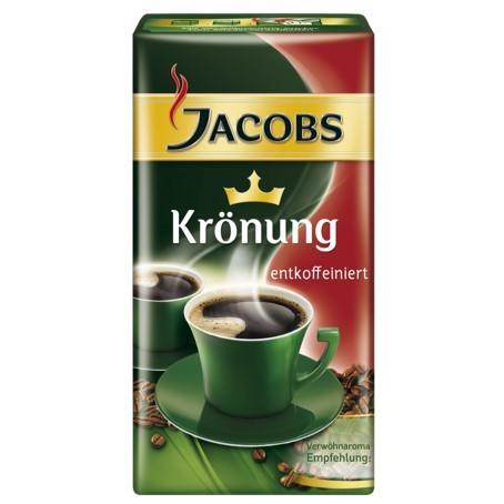 Jacobs Krönung entkoffeiniert (12/500 g.)