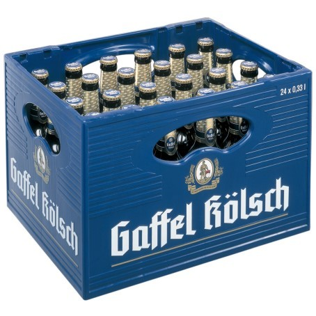 Gaffel Kölsch (24/0,33 Ltr. Glas MEHRWEG)