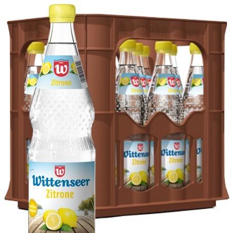 Wittenseer Limo Zitrone (12/0,7 Ltr. Glas MEHRWEG)