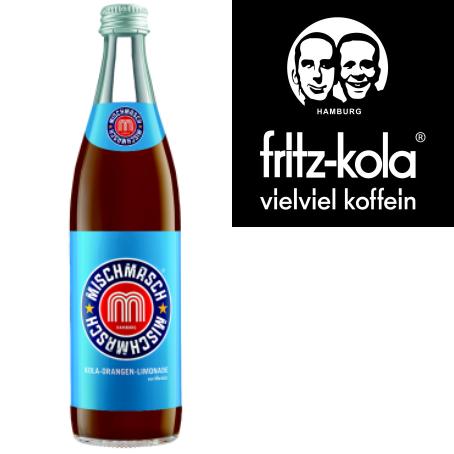 fritz-mischmasch Kola-Orangenlimonade