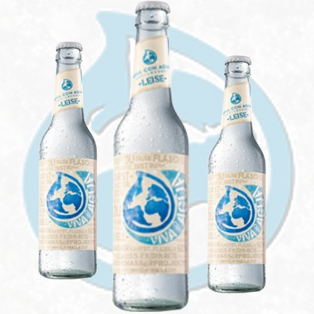 Viva con Agua leise (24/0,33 Ltr. Glas MEHRWEG)