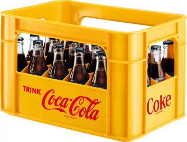 Coca Cola Zero (24/0,33 Ltr. Glas MEHRWEG)