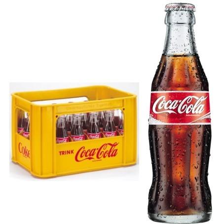 Coca Cola (24/0,2 Ltr. Glas MEHRWEG)