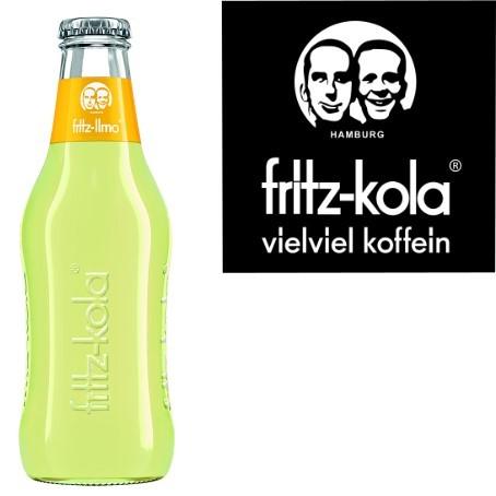 fritz -limo Zitronenlimonade (24/0,2 Ltr. Glas MEHRWEG)