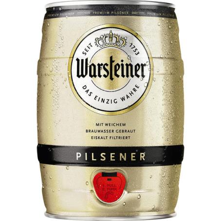 Warsteiner Pils Partydose 2/5 Ltr. EINWEG
