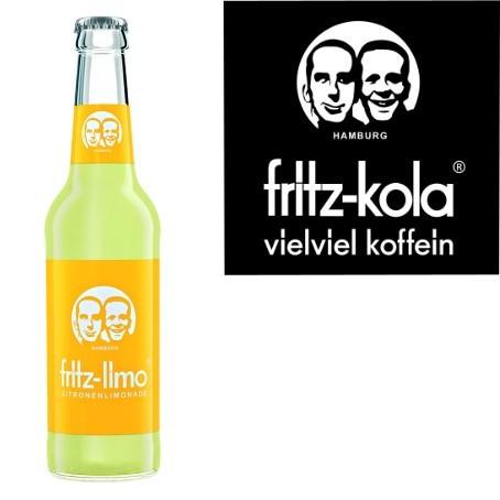 fritz -limo Zitronenlimonade (24/0,33 Ltr. Glas MEHRWEG)