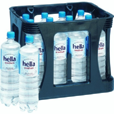 Hella medium 12/1,0 Ltr. PETc | Direct Getränke Lieferservice Hamburg