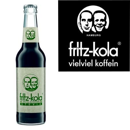 fritz -kola Stevia (24/0,33 Ltr. Glas MEHRWEG)