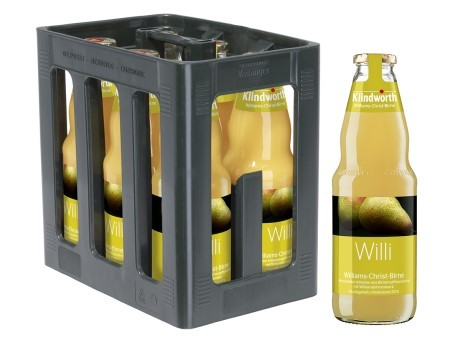 Klindworth Williams- Christ- Birnennektar (6/1 Ltr. Glas)