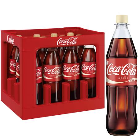 Coca Cola Vanilla (12/1,0 Ltr. PET MEHRWEG)