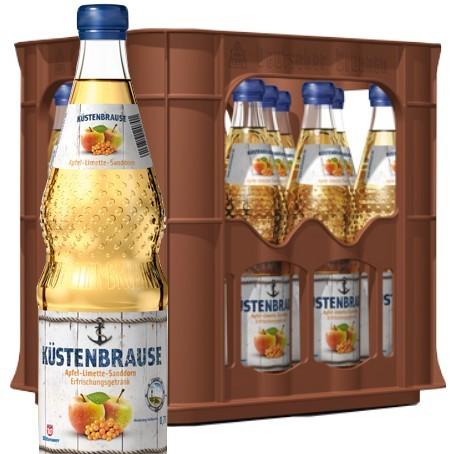 Wittenseer Limo Küstenbrause (12/0,7 Ltr. Glas MEHRWEG)