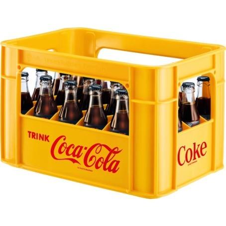 Coca Cola Zero (24/0,2 Ltr. Glas MEHRWEG)