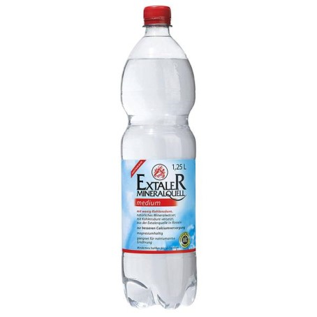 Extaler medium (6/1,25 Ltr.) PET EINWEG