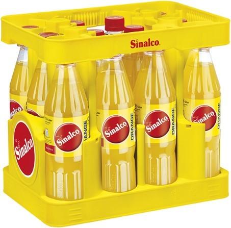 Sinalco Orange 12/0,5 Ltr. PET   Direct Getränke Lieferservice Hamburg